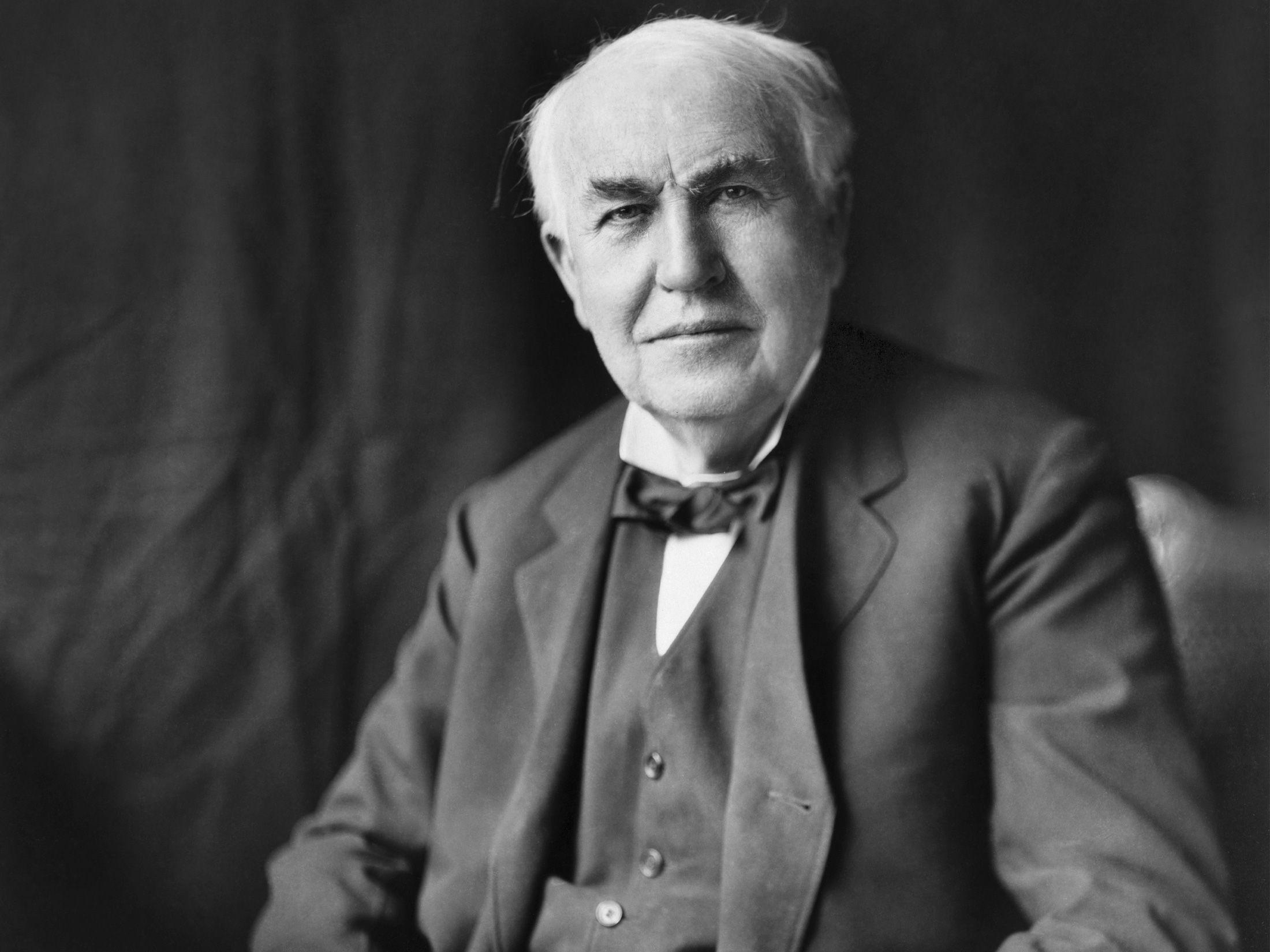 HD Thomas Edison Wallpapers and Photos