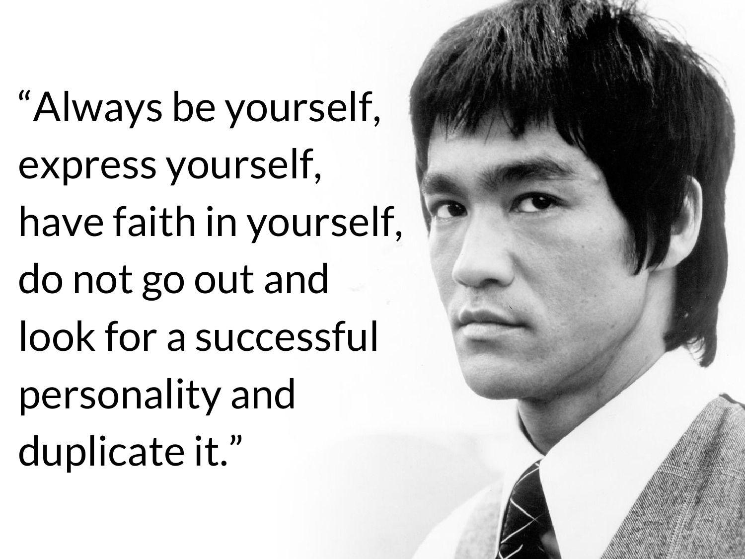 Bruce Lee Quotes Wallpapers - Wallpaper Cave