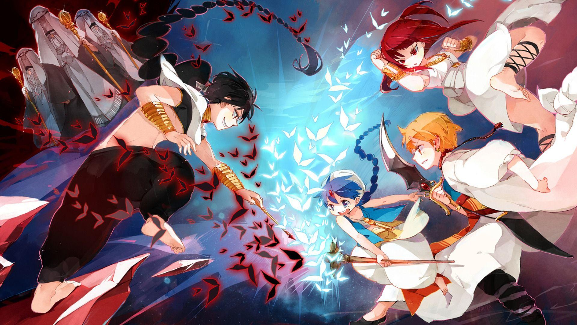 Magi: The Labyrinth of Magic HD Wallpaper | Animation Wallpapers