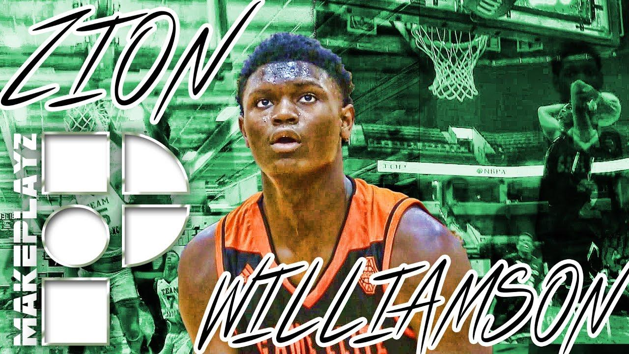 Zion Williamson SHOWS NO MERCY on the RIMS! Official Summer Mixtape ...