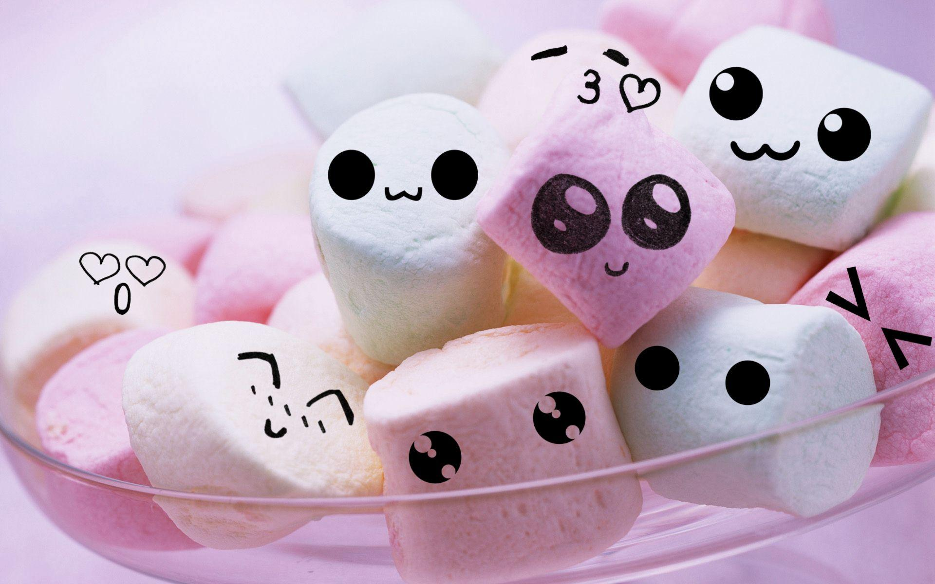 Marshmellows Marshmallows By Lieveheersbeestje On Deviantart Cute