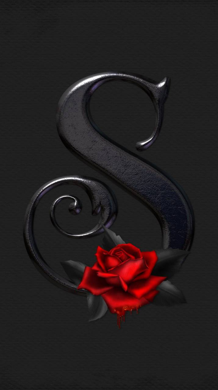 Letter S Rose wallpapers by __KoniG__ • ZEDGE™