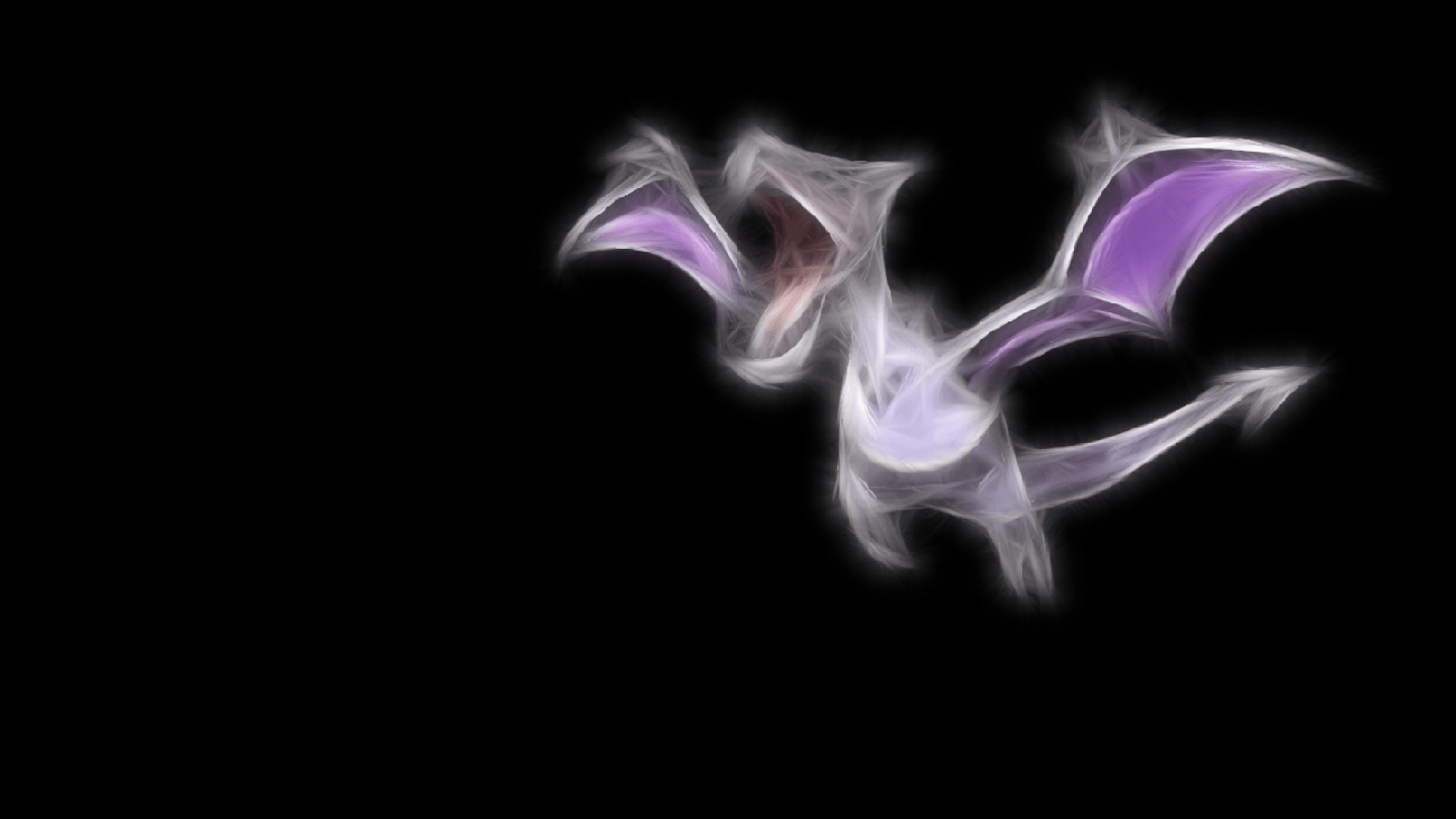 ScreenHeaven: Aerodactyl Pokemon black background dragons simple ...