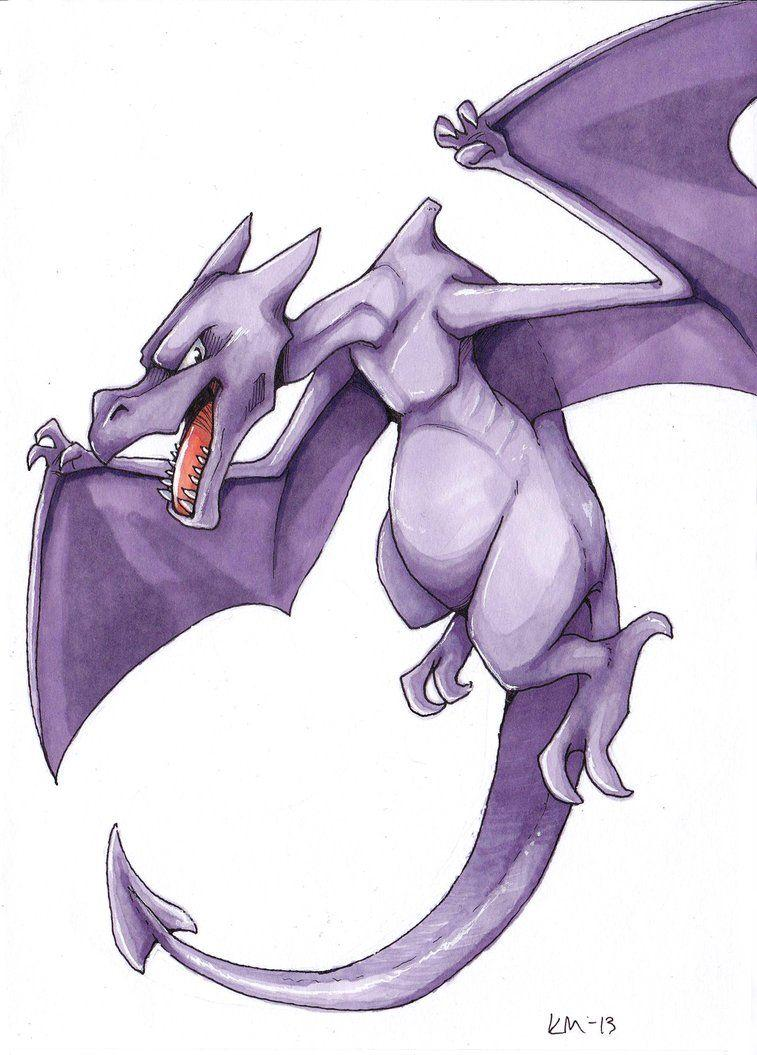 Aerodactyl by Yushiko on DeviantArt