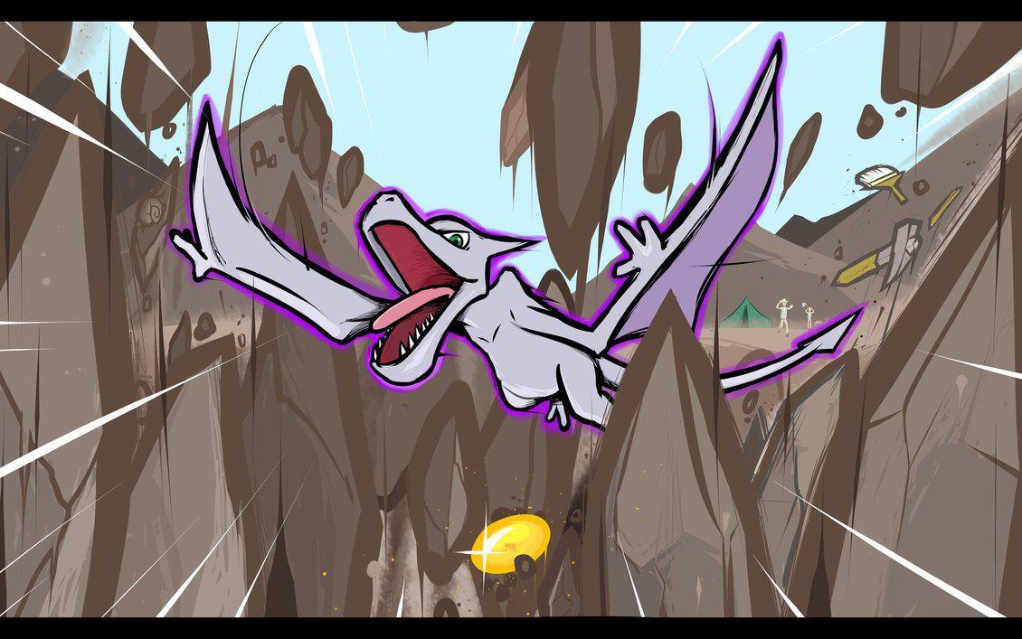 Aerodactyl | Ancient Power by ishmam on DeviantArt