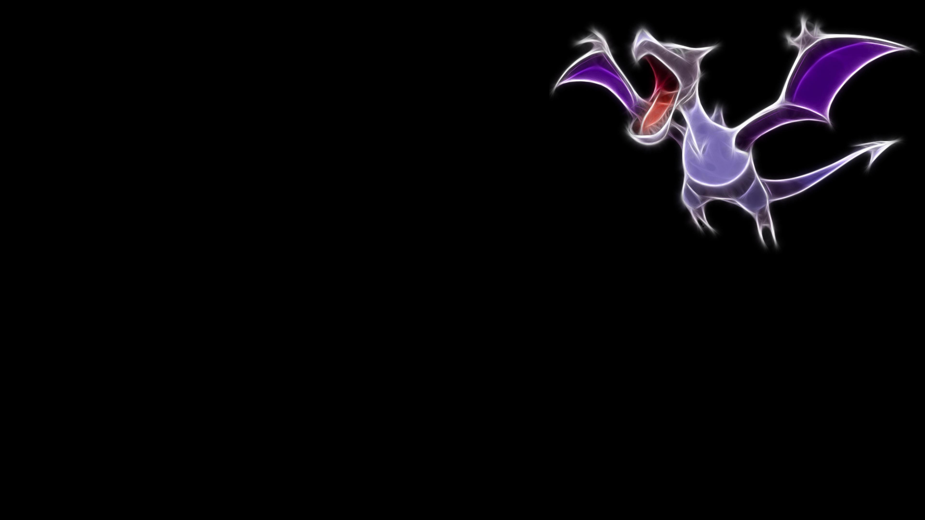aerodactyl pokemon black background best widescreen awesome #1318192