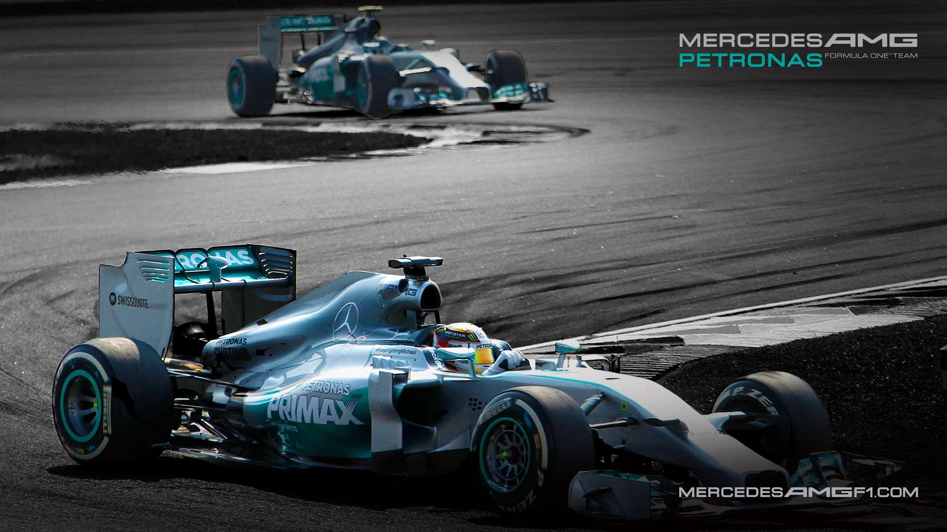 Formula One Mercedes AMG Petronas Moving Desktop Wallpapers