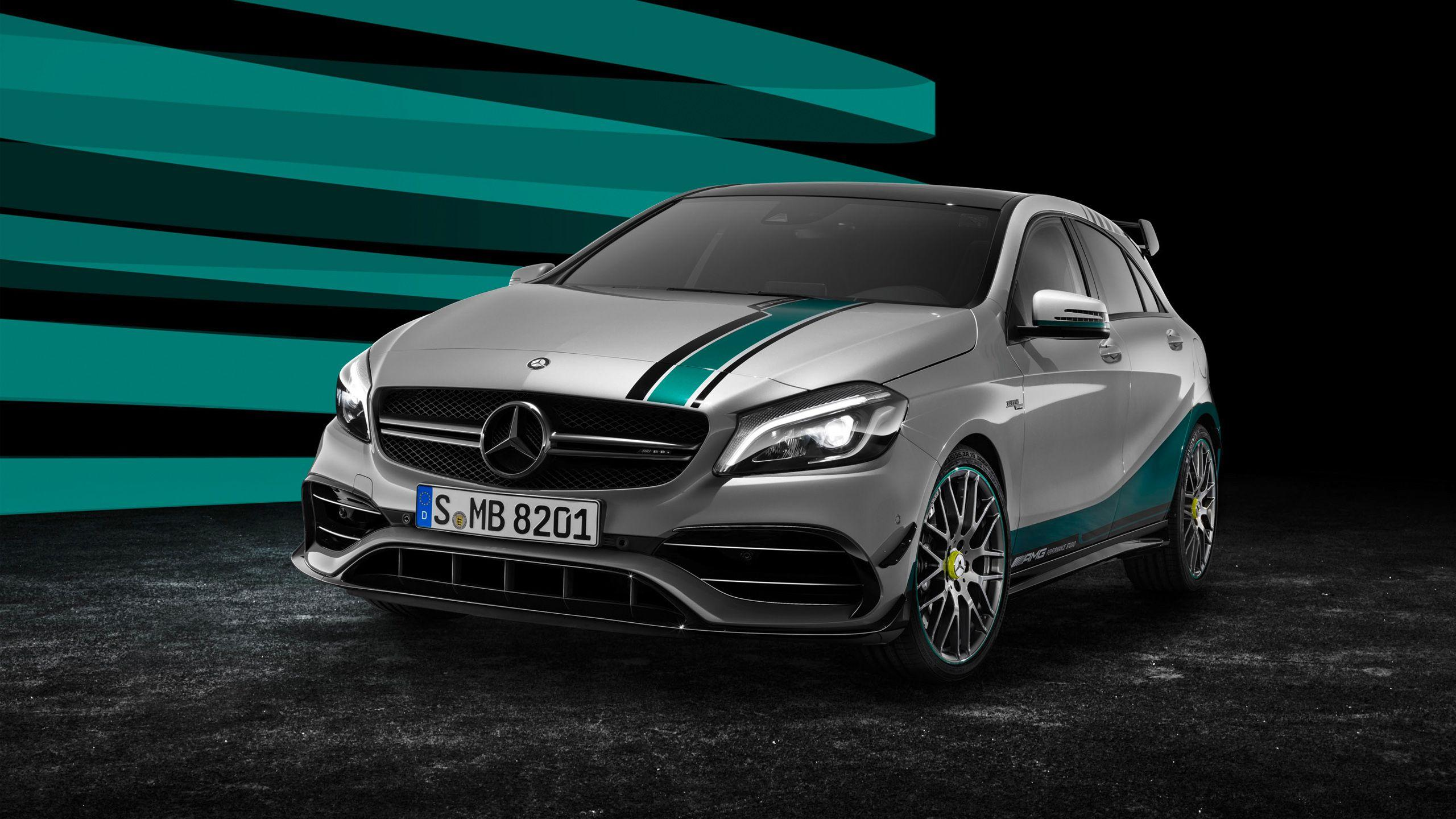 2015 Mercedes AMG A45 4matic Champions Edition Wallpapers