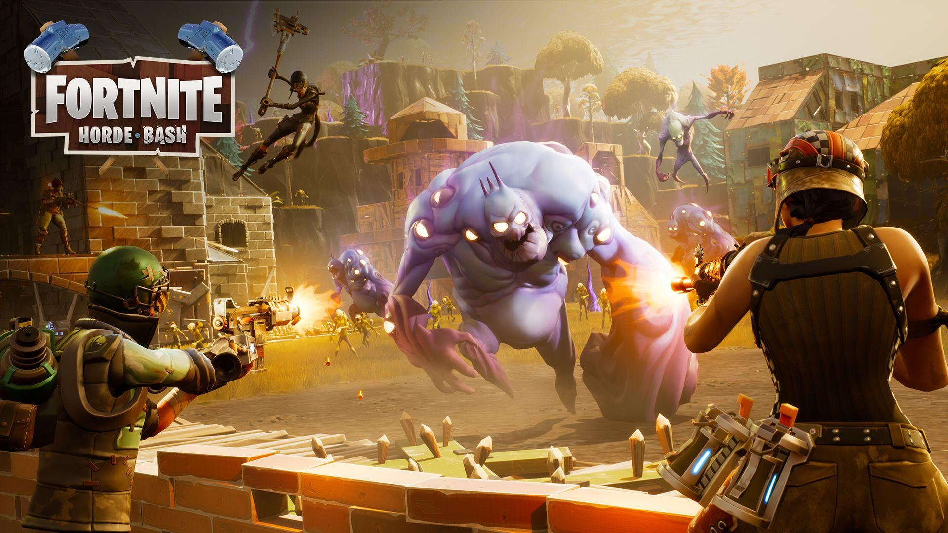 Fortnite Update Adds Horde Mode, Fixes for Battle Royale