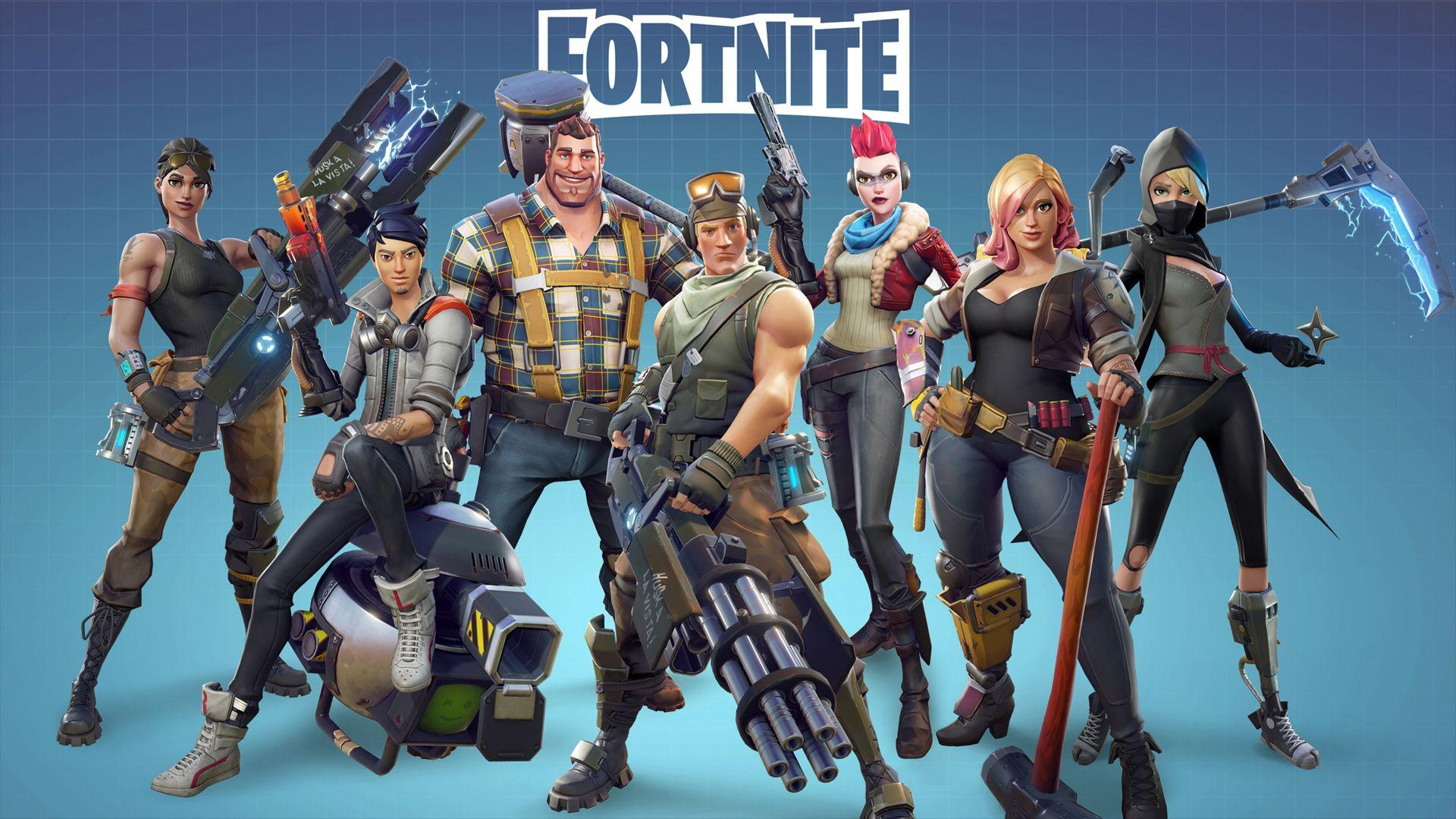 Battle Royale w Fortnite. Wallpaper from Fortnite - gamepressure.com