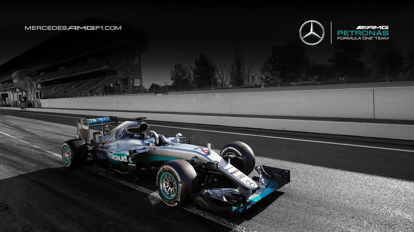 Mercedes AMG Petronas W07 2016 F1 Wallpapers