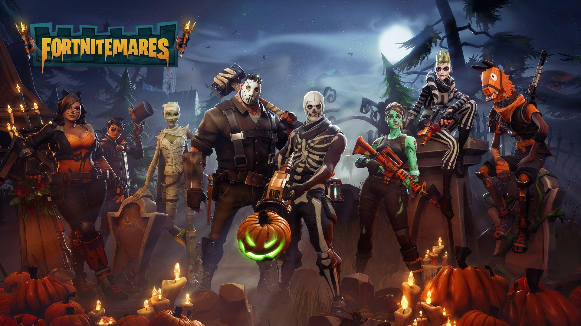 The Fortnite: Battle Royale Fortnitemares Halloween Event Is ...