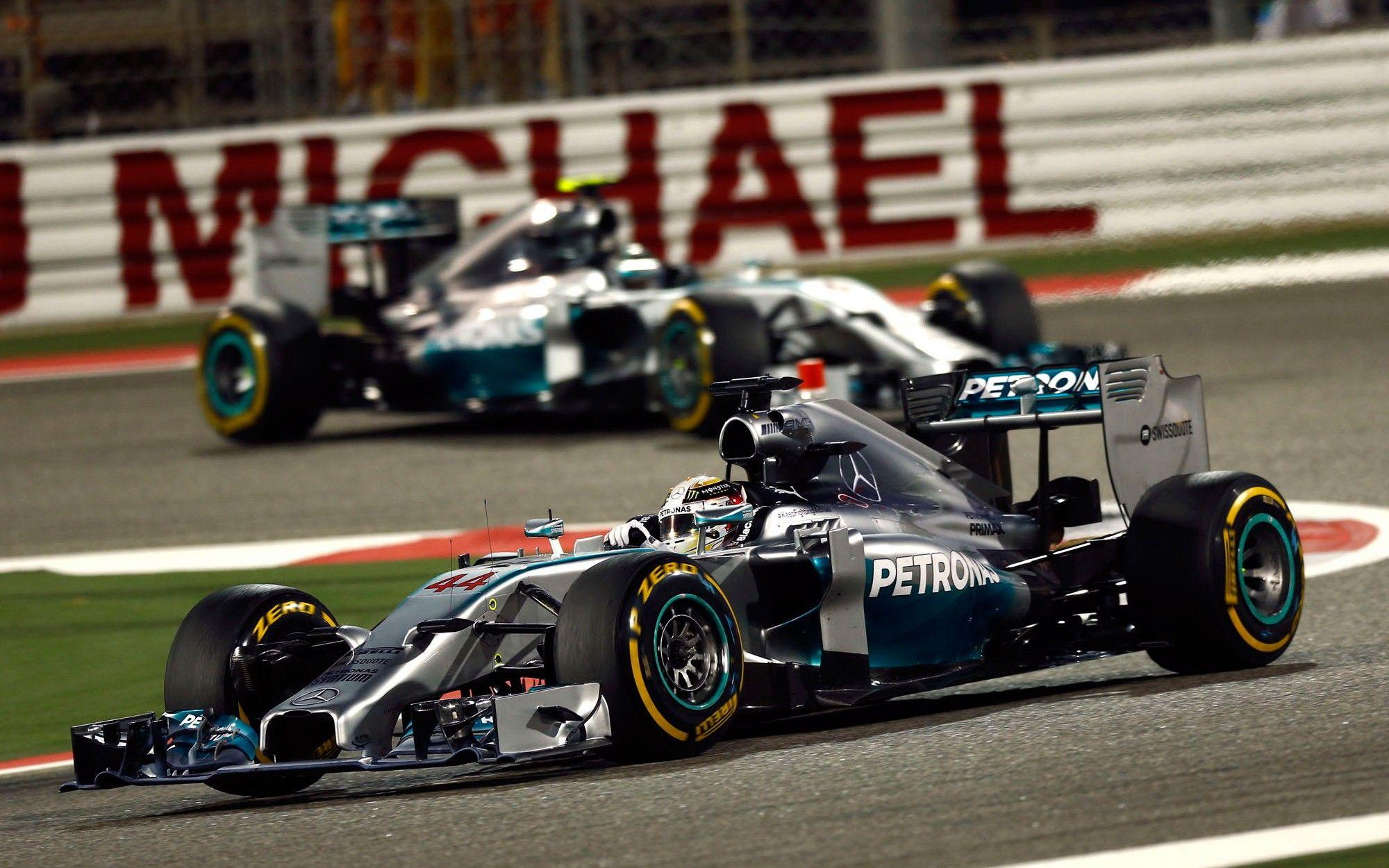 F1 Mercedes AMG Petronas wallpapers