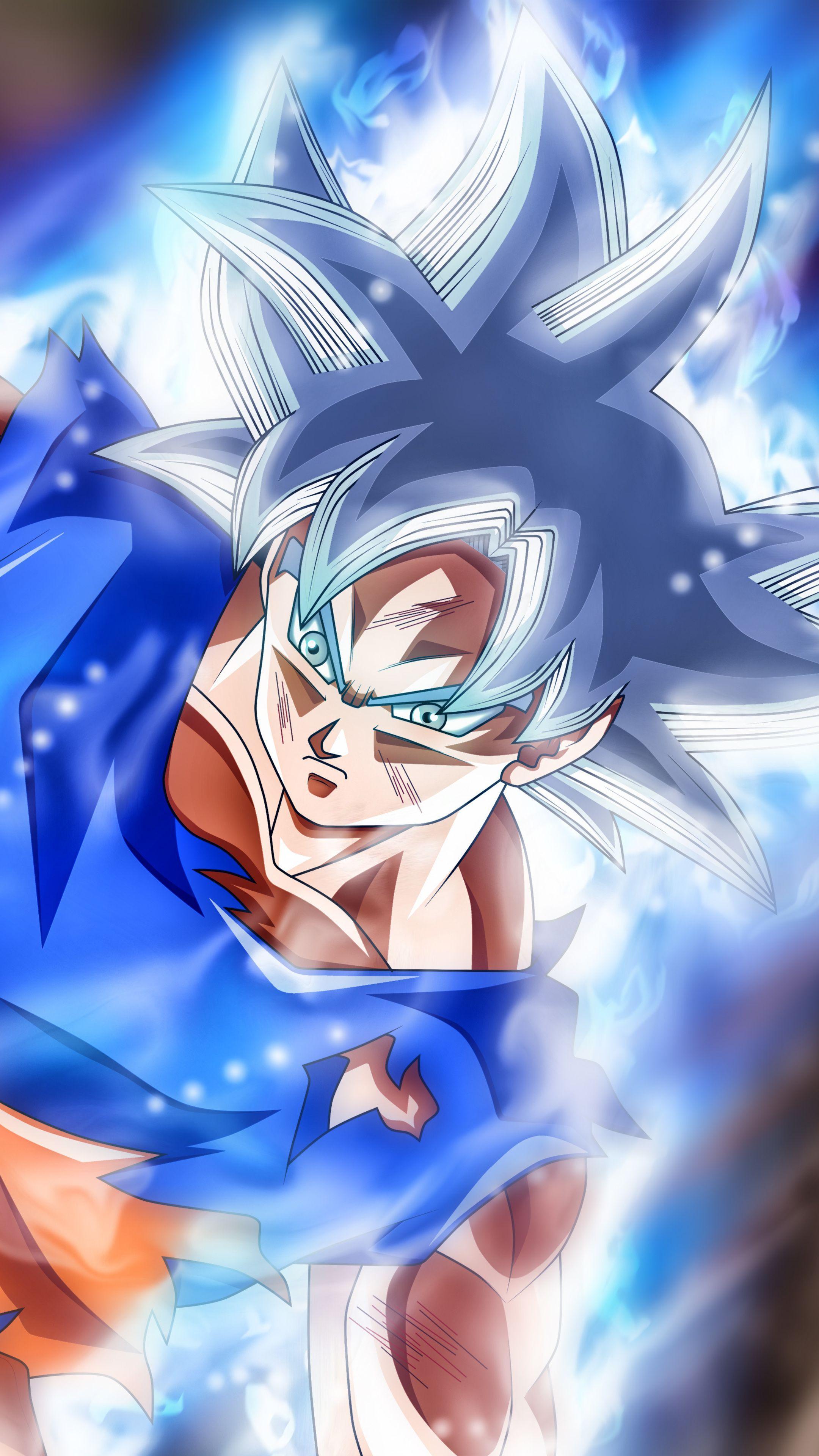 Mastered Ultra Instinct Goku Wallpapers - Wallpaper Cave