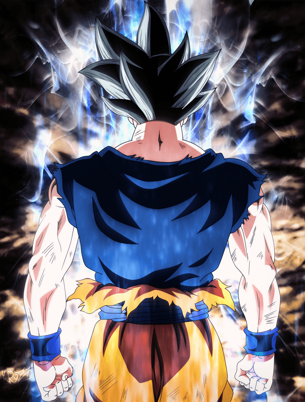 Goku Ultra Instinct Hd Android Wallpapers Wallpaper Cave