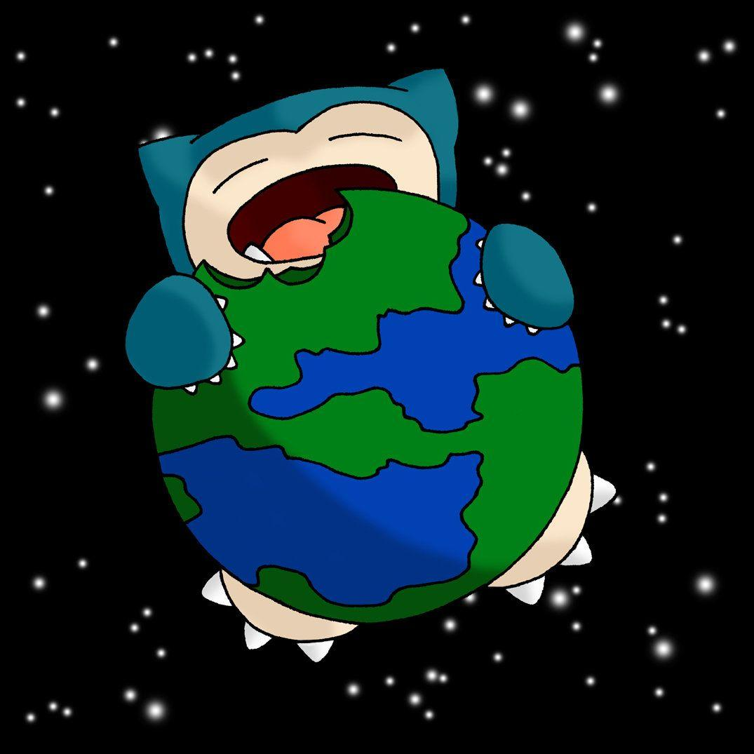 Snorlax Eat World by JakeXalrons on DeviantArt