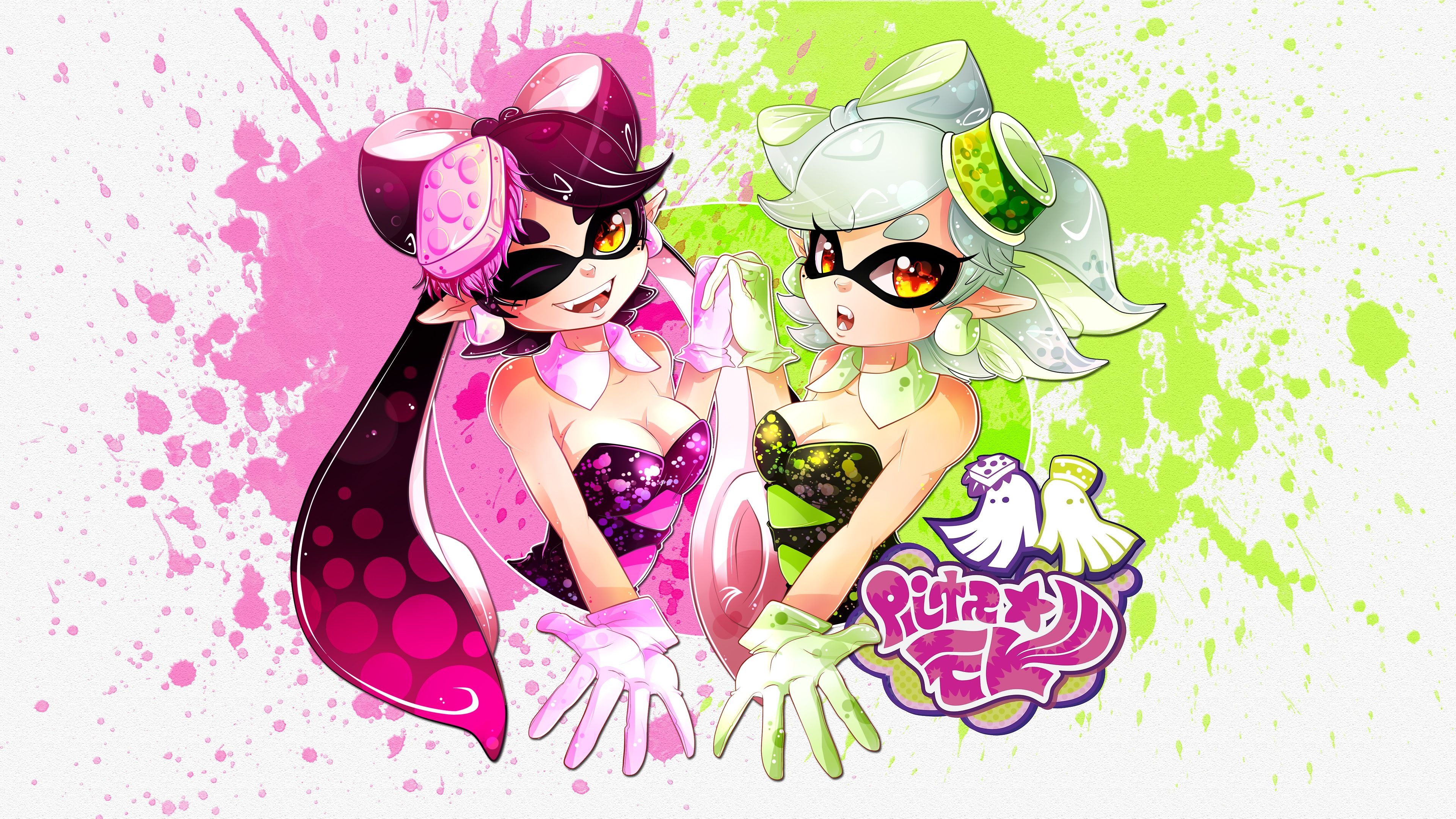 Squid Sisters Wallpapers Wallpaper Cave