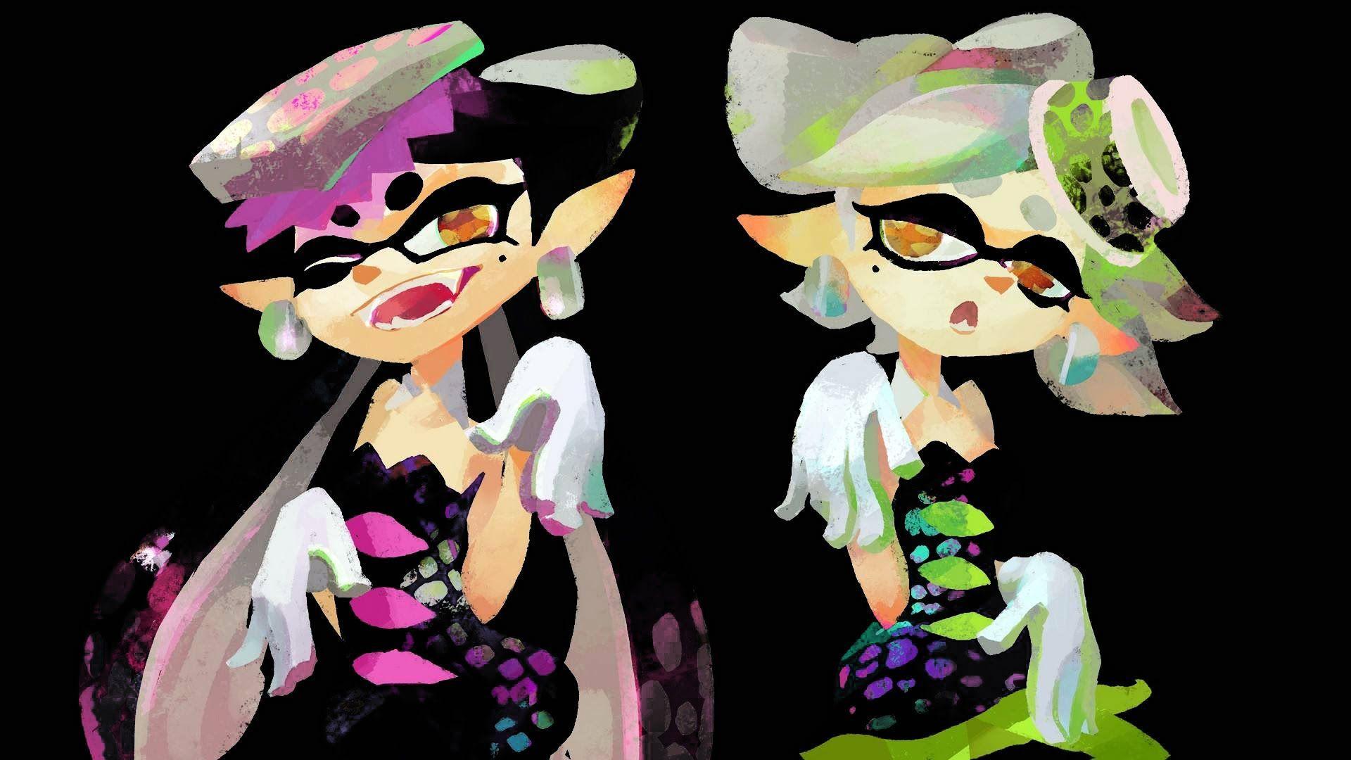 Aioli Splatoon squid sisters wallpapers - wallpaper cave