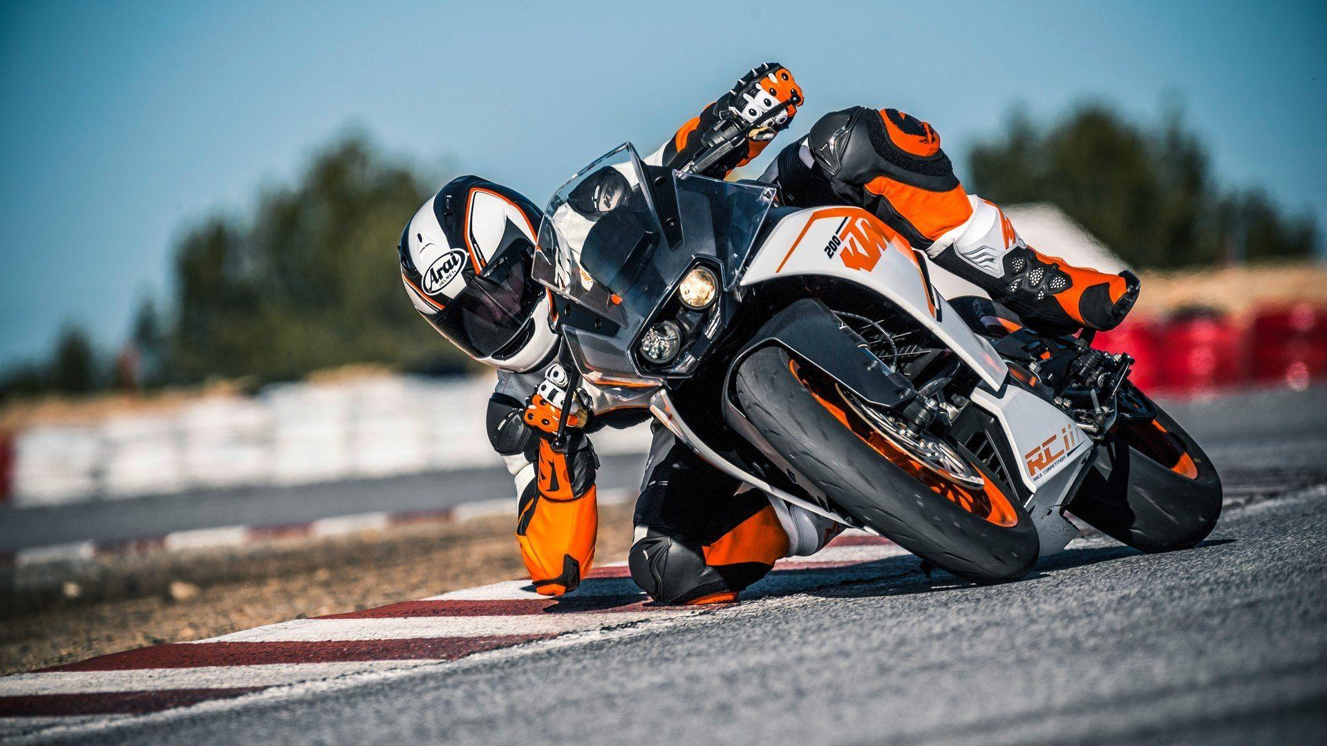 KTM RC200 HD wallpapers