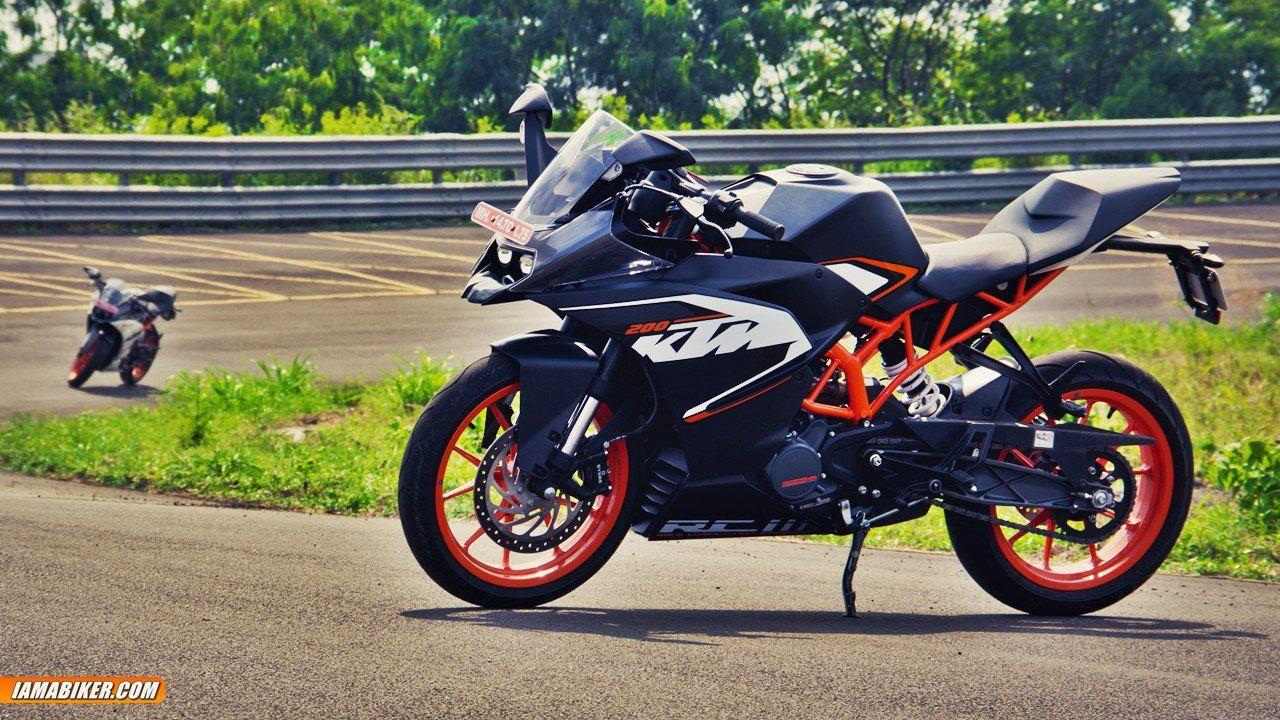 KTM RC 200 Wallpapers