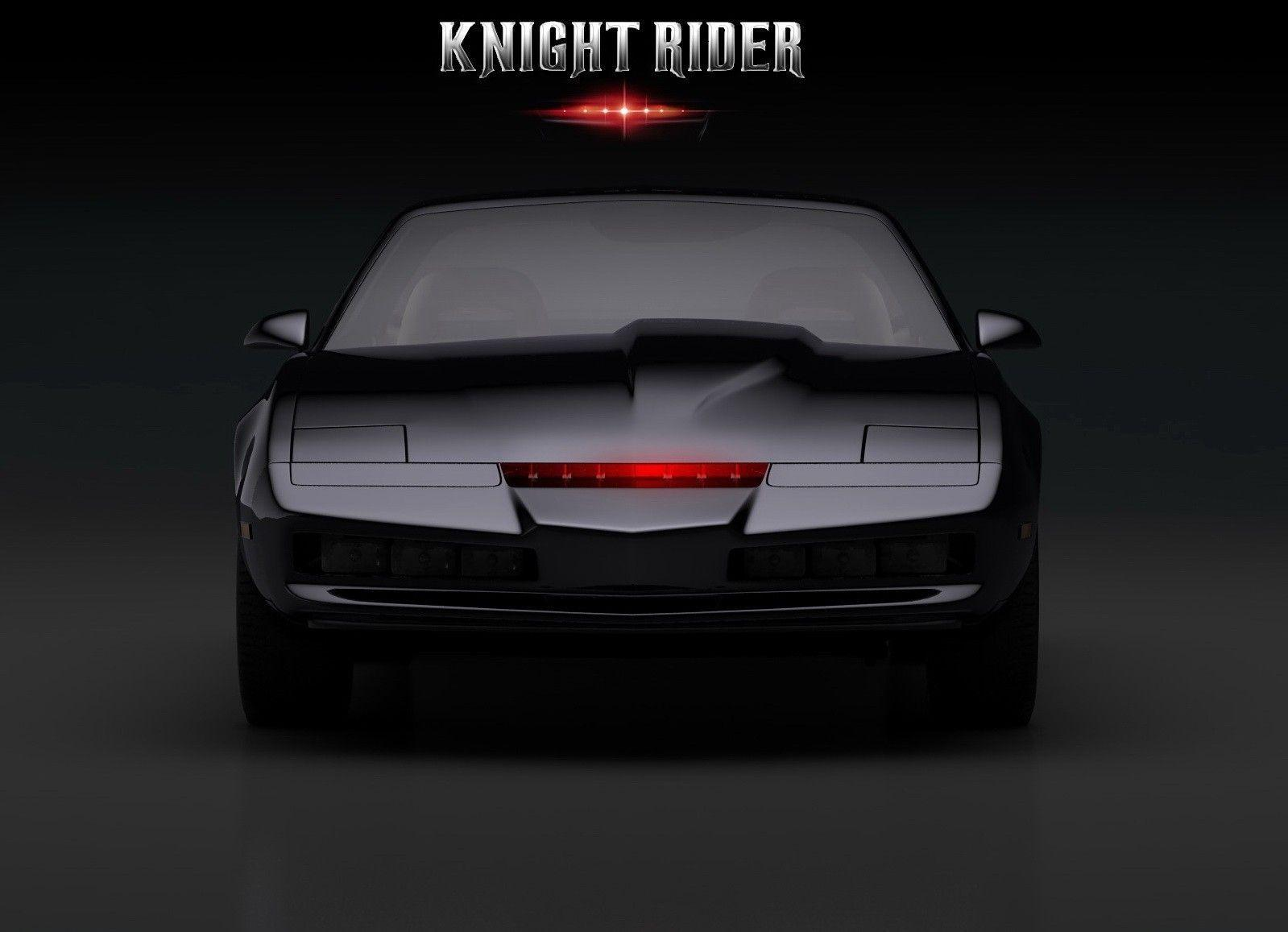 sport cars, #Pontiac, #simple background, #Knight Rider, #K.I.T.T.