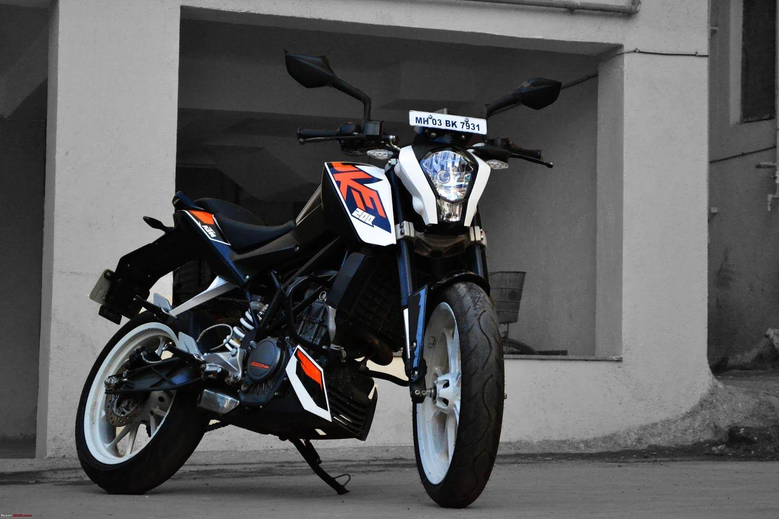 KTM Duke 200 Black Colour HD Wallpapers And Image Download