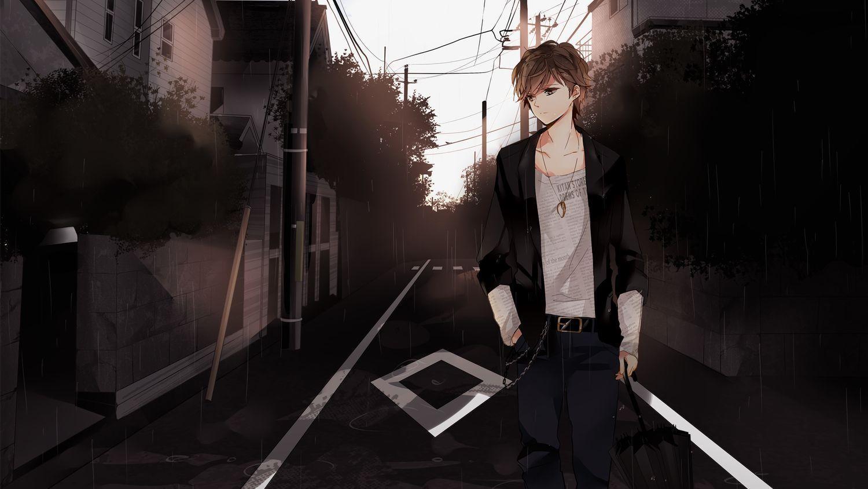 Wallpaper Anime Boy 3d gambar ke 20