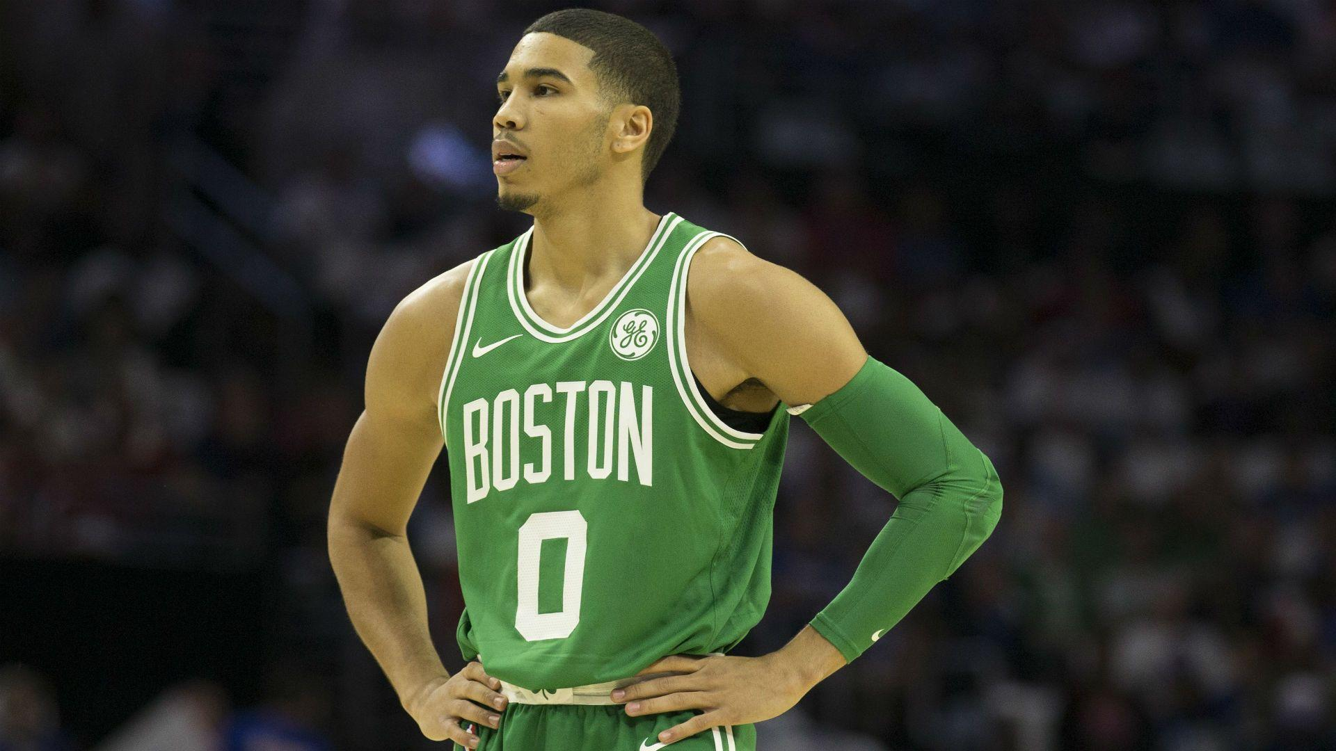Jayson Tatum injury update: Celtics rookie in walking boot with