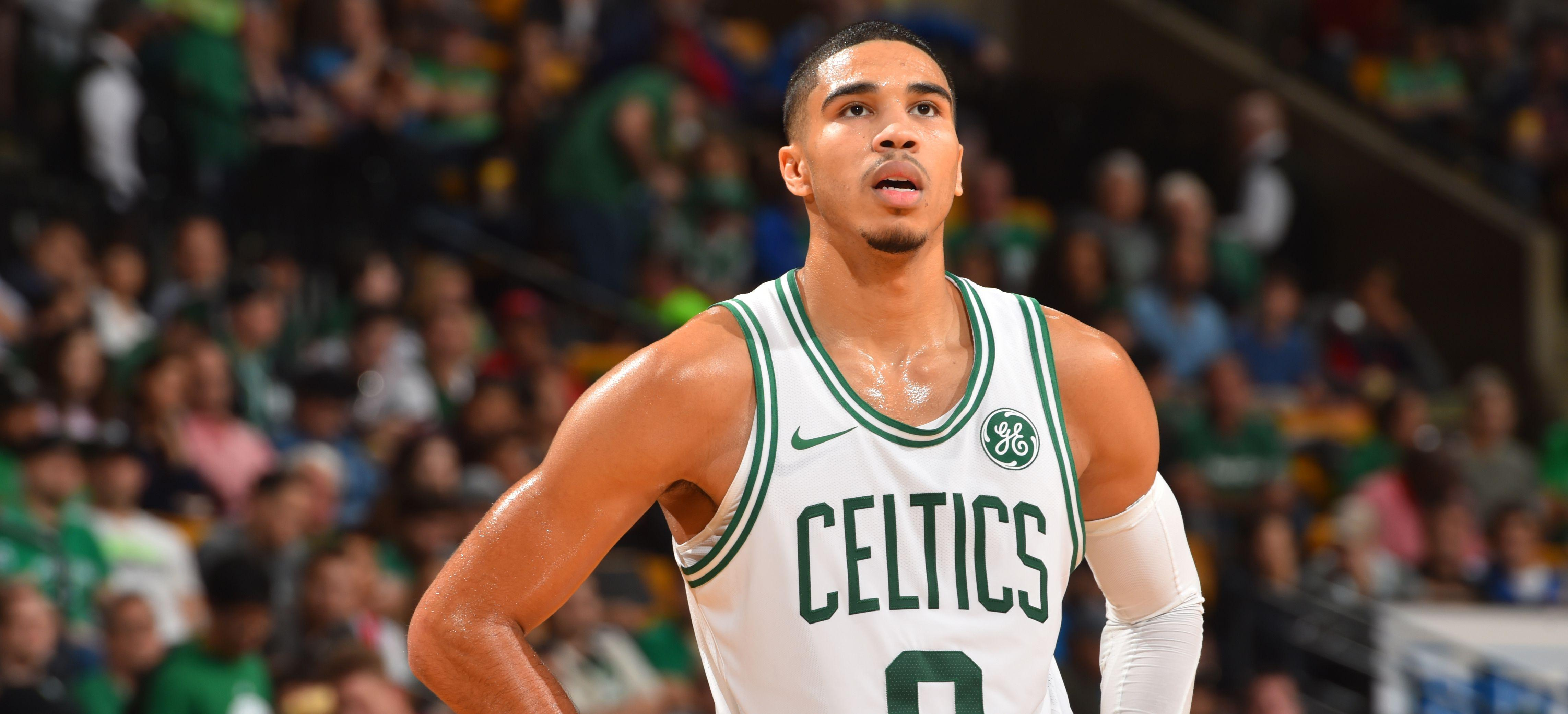 Tatum, Awed by Opening Night, Will Start for C's
