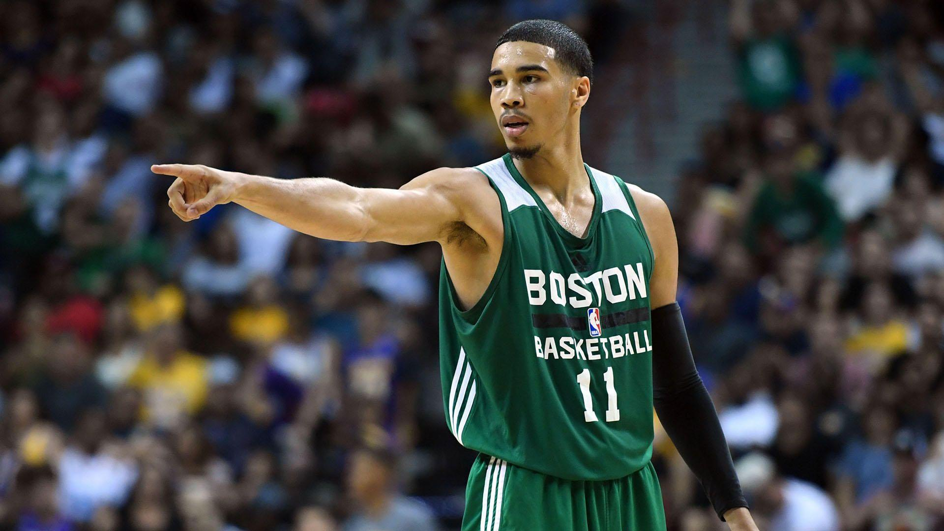 Time to Schein: Jayson Tatum is excited to play with Kyrie Irving