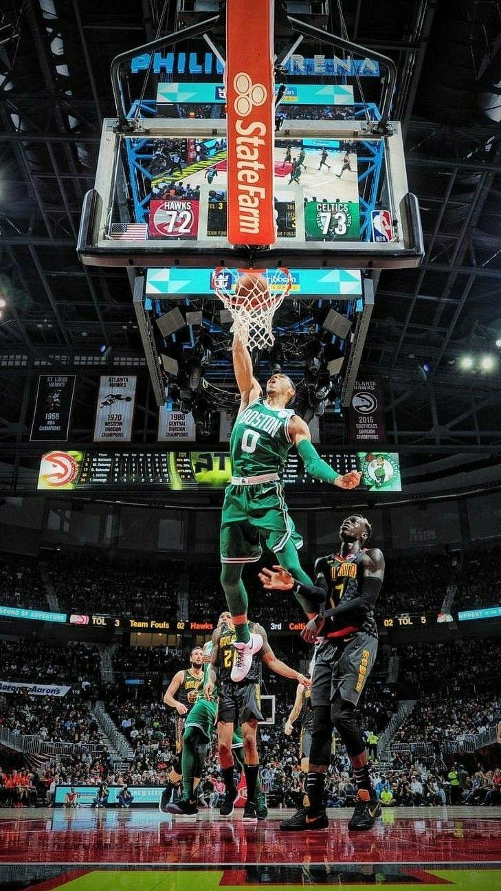 Jayson Tatum dunk Wallpapers