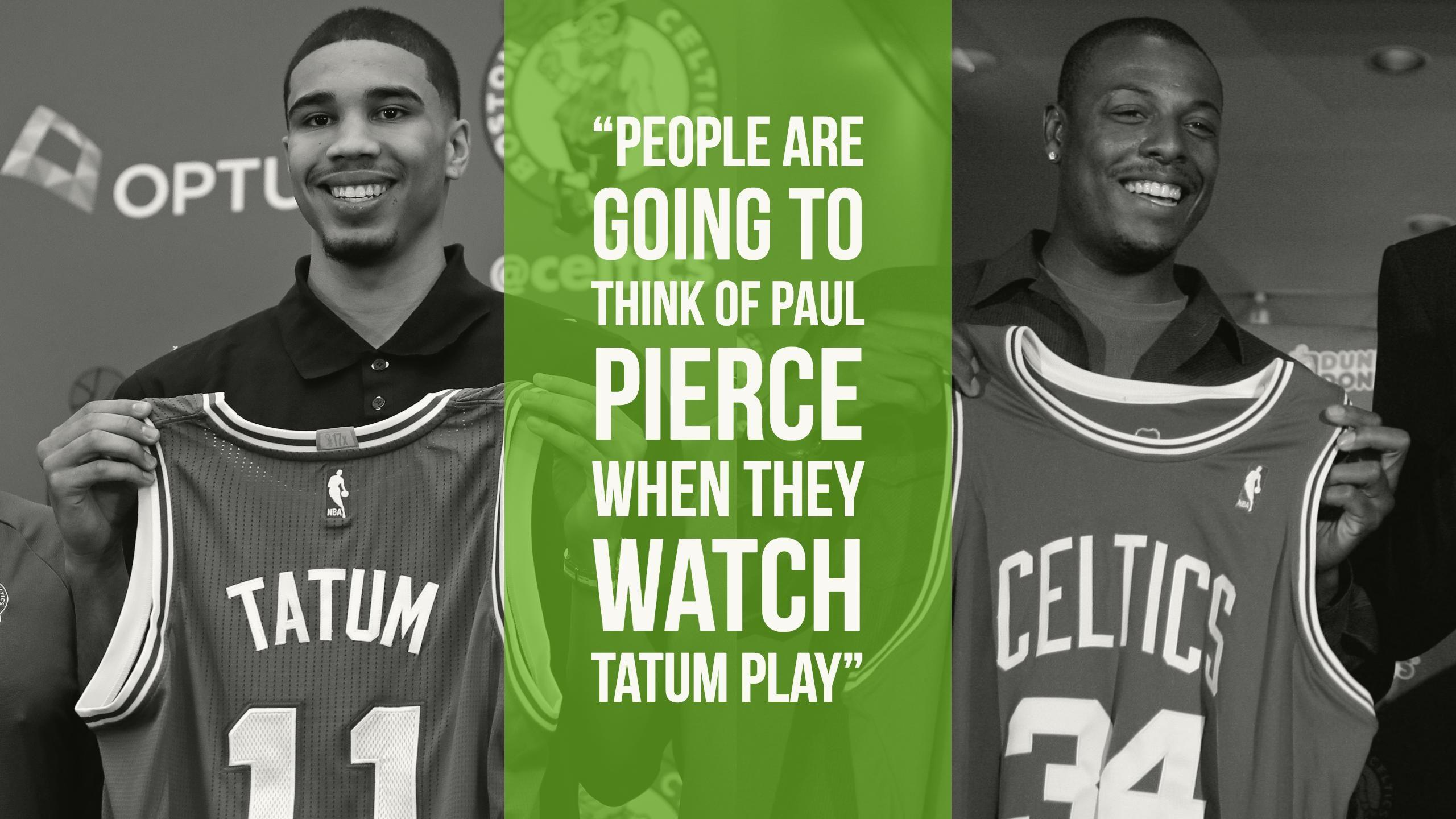 O'Connor: 'People are going to think of Paul Pierce when they