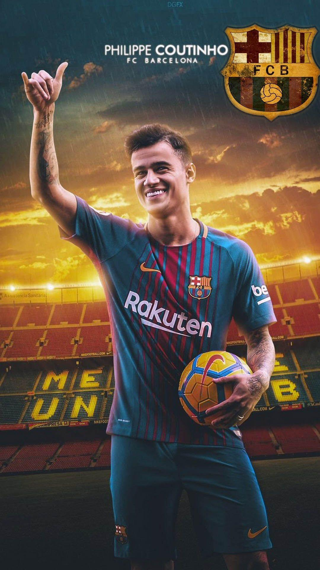 Coutinho Barcelona Wallpapers Wallpaper Cave