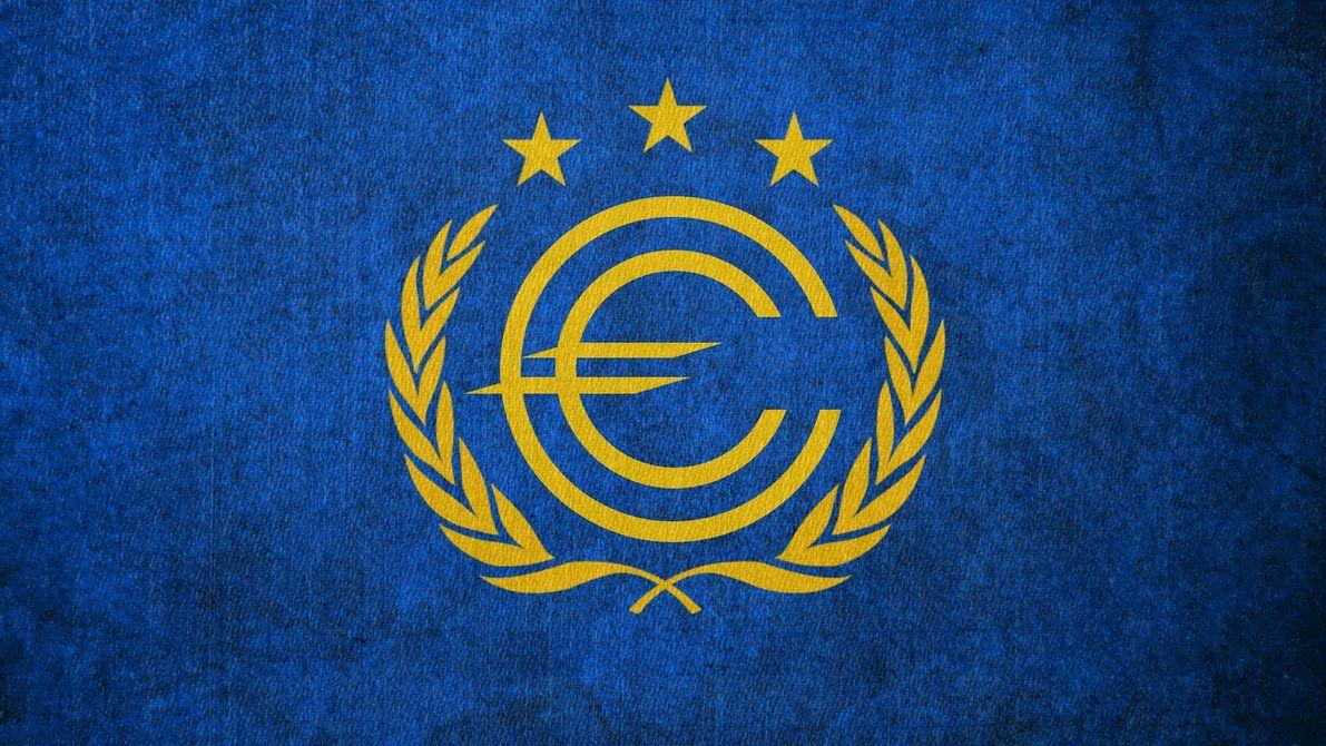 FALLOUT: Flag of the European Commonwealth by okiir