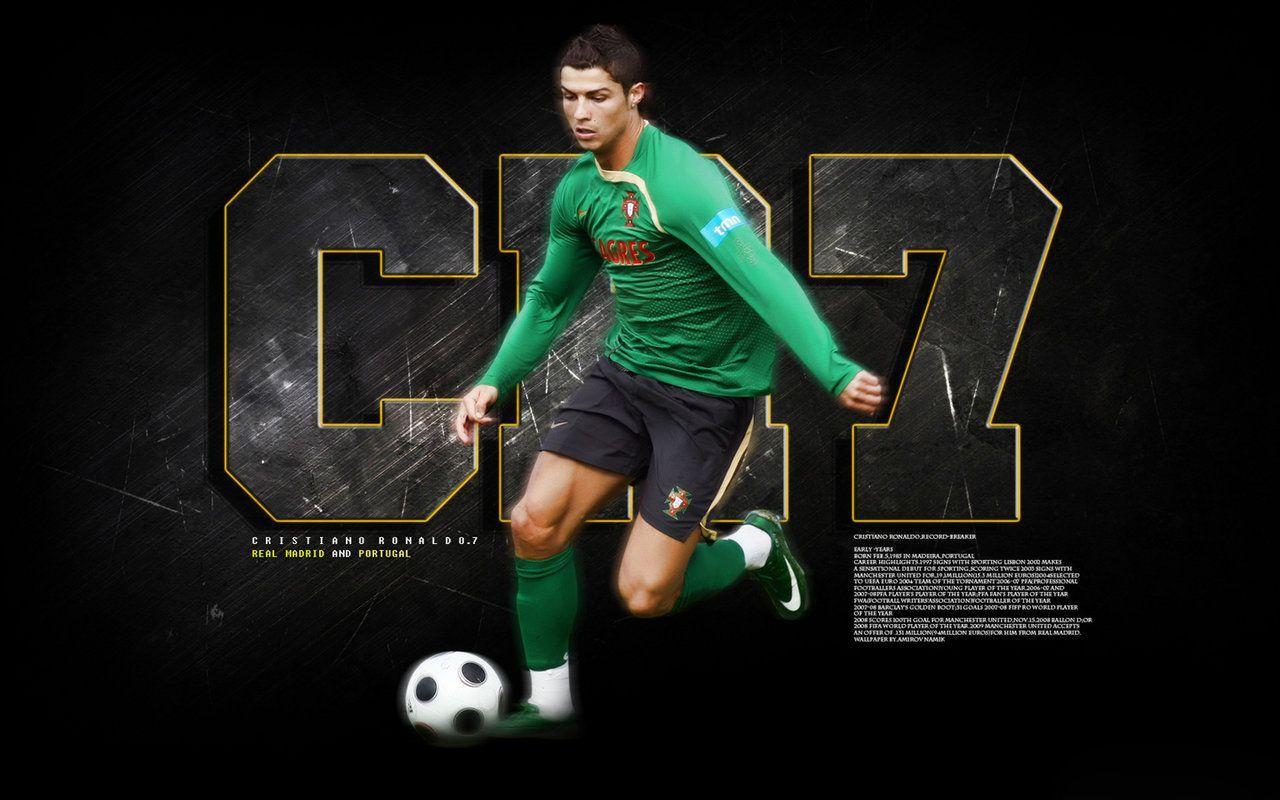 Cristiano Ronaldo Cr7 Wallpapers Wallpaper Cave