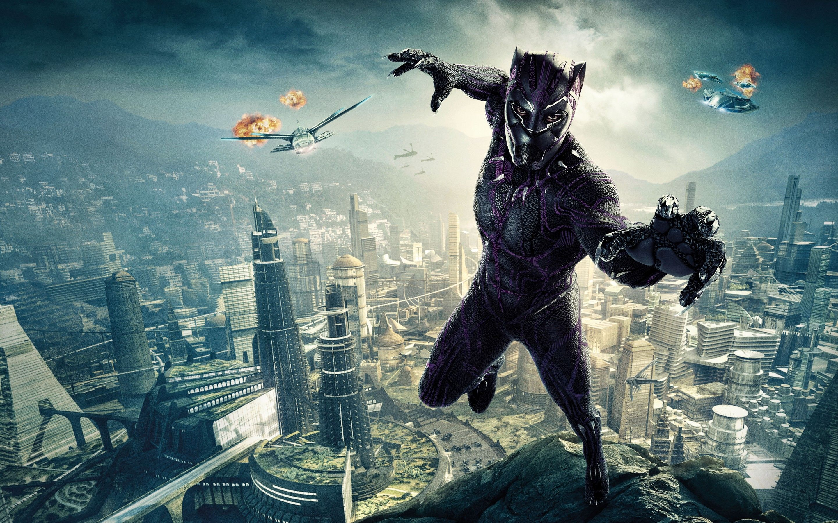 Black Panther 2018 Wallpapers Wallpaper Cave
