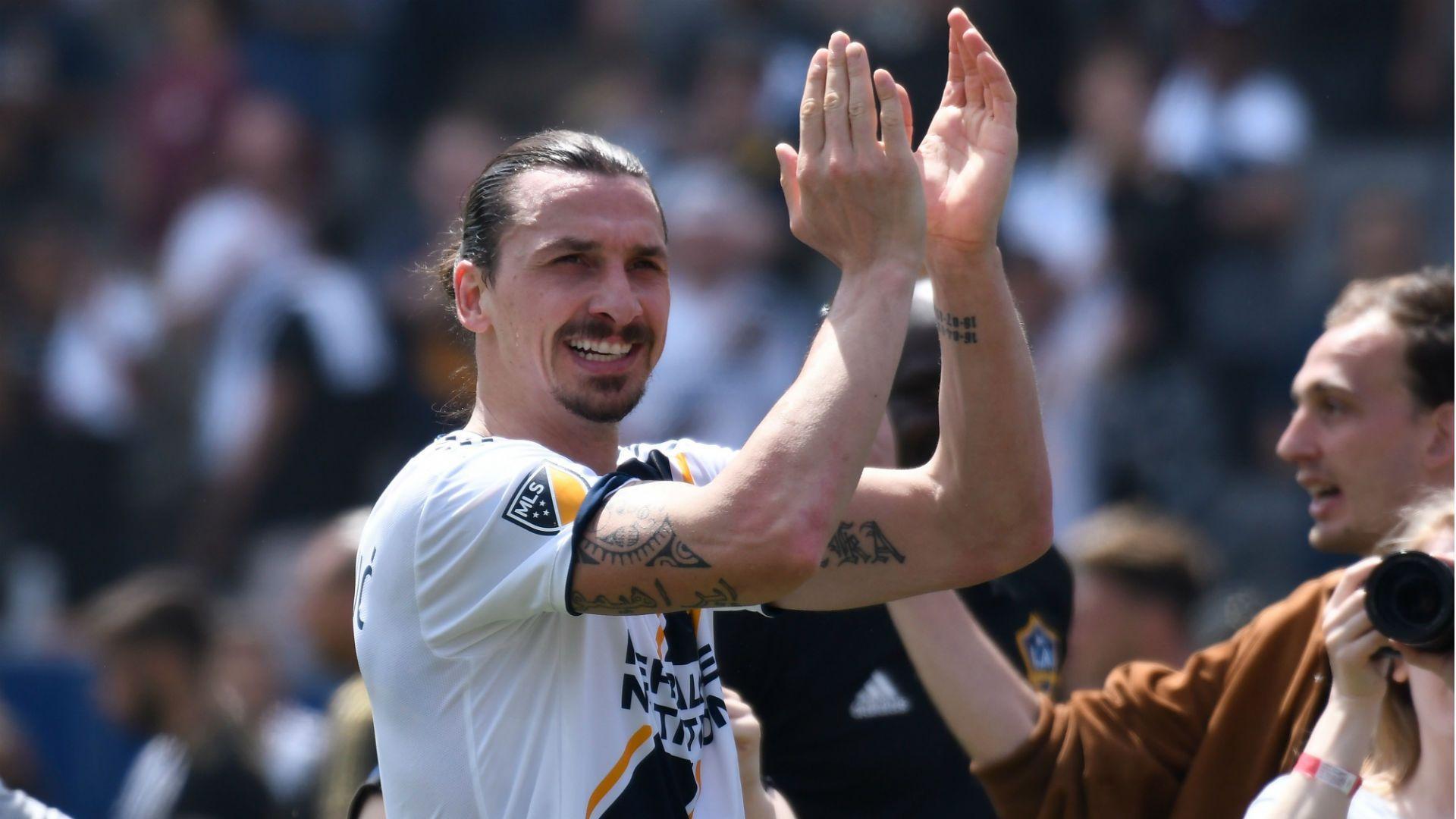 6e5e53b7bea God' Zlatan Ibrahimovic produces debut miracle after prophetic LA .
