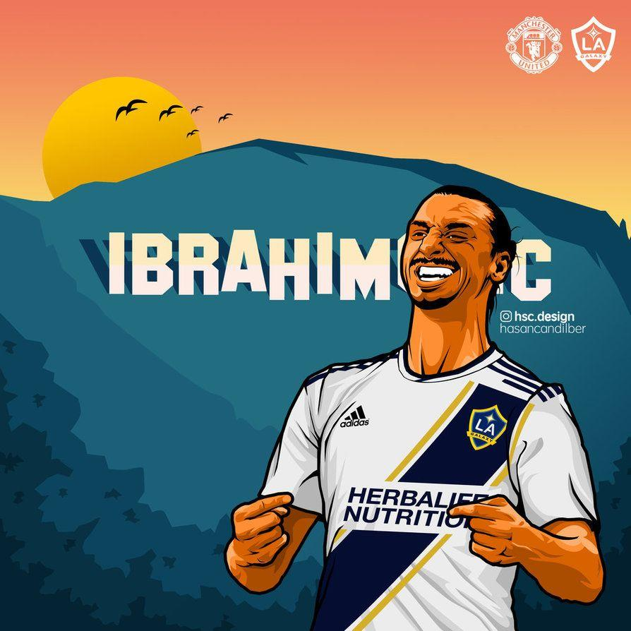 4842685b2db Zlatan Ibrahimovic LA Galaxy Vector Work by compeng on DeviantArt