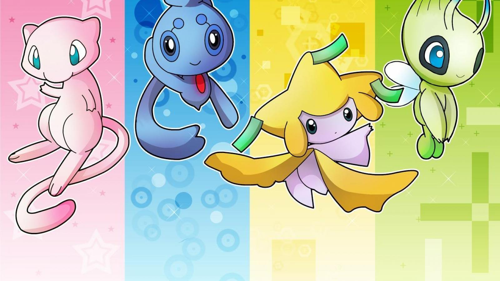 Mew (pokemon) images 4 Amigos HD wallpaper and background photos ...