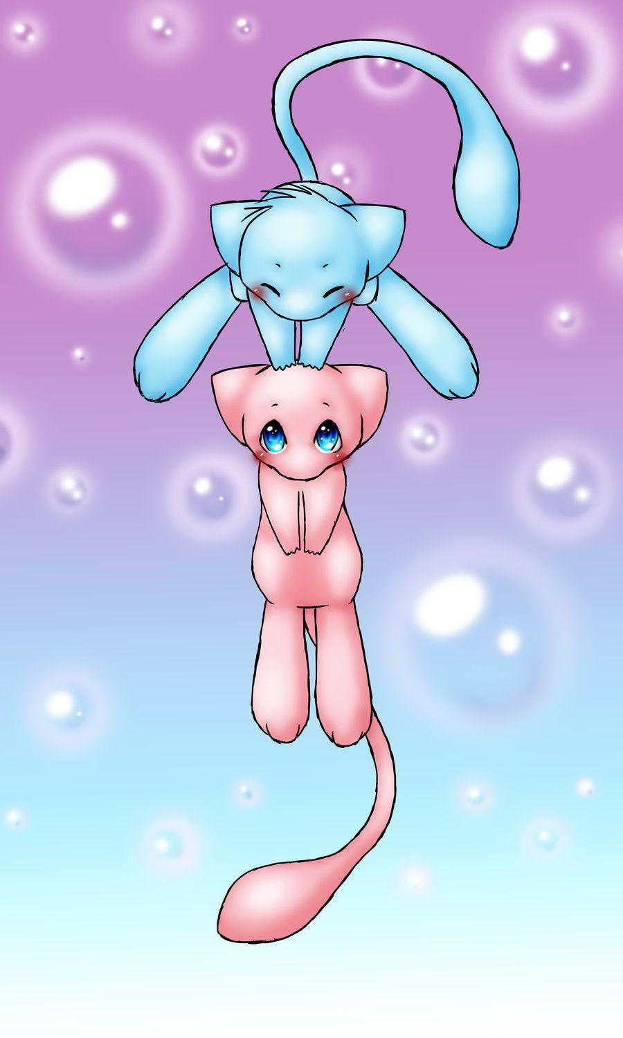 Mew (pokemon) images Mew Love! HD wallpaper and background photos ...