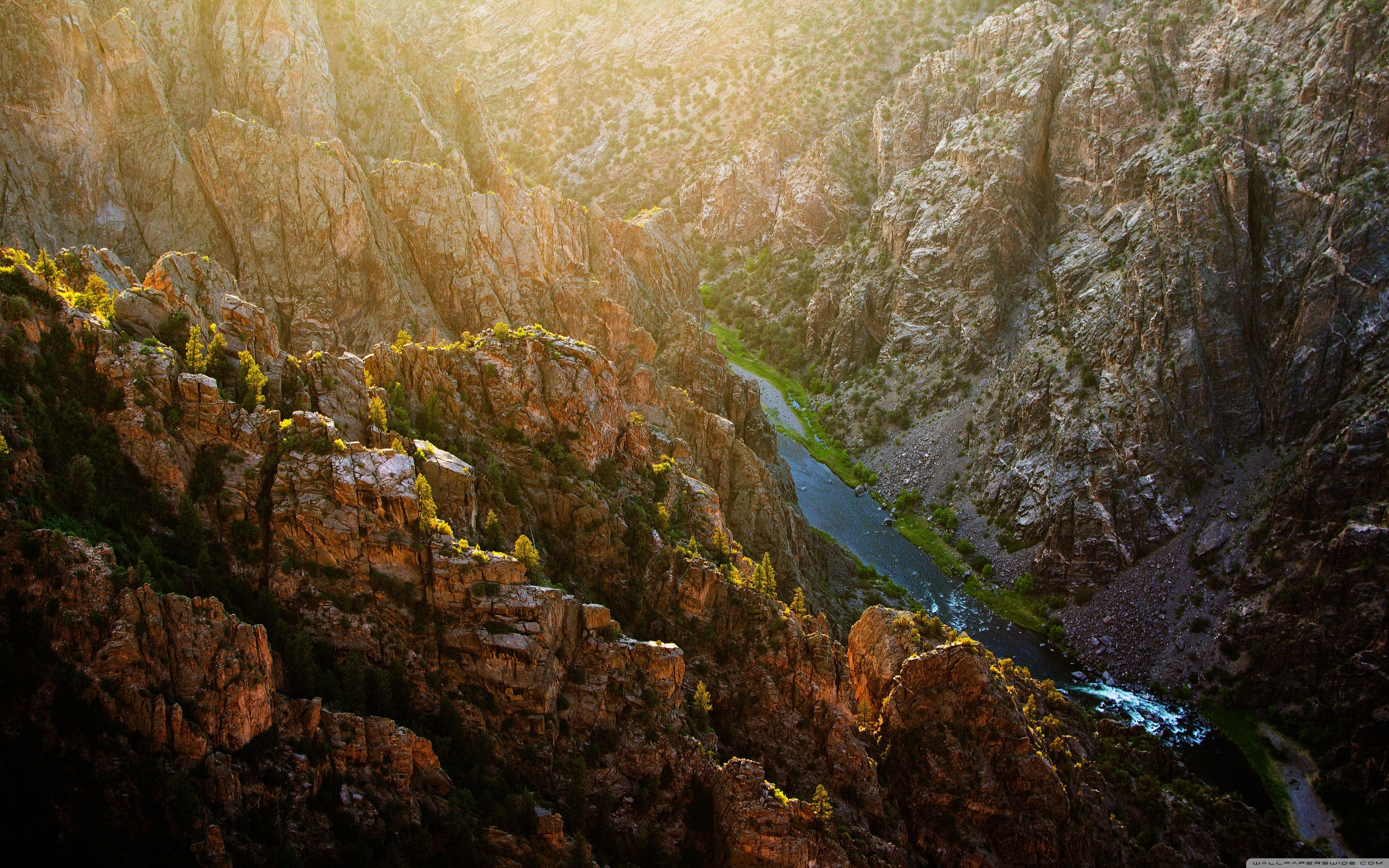 Black Canyon of the Gunnison National Park ❤ 4K HD Desktop