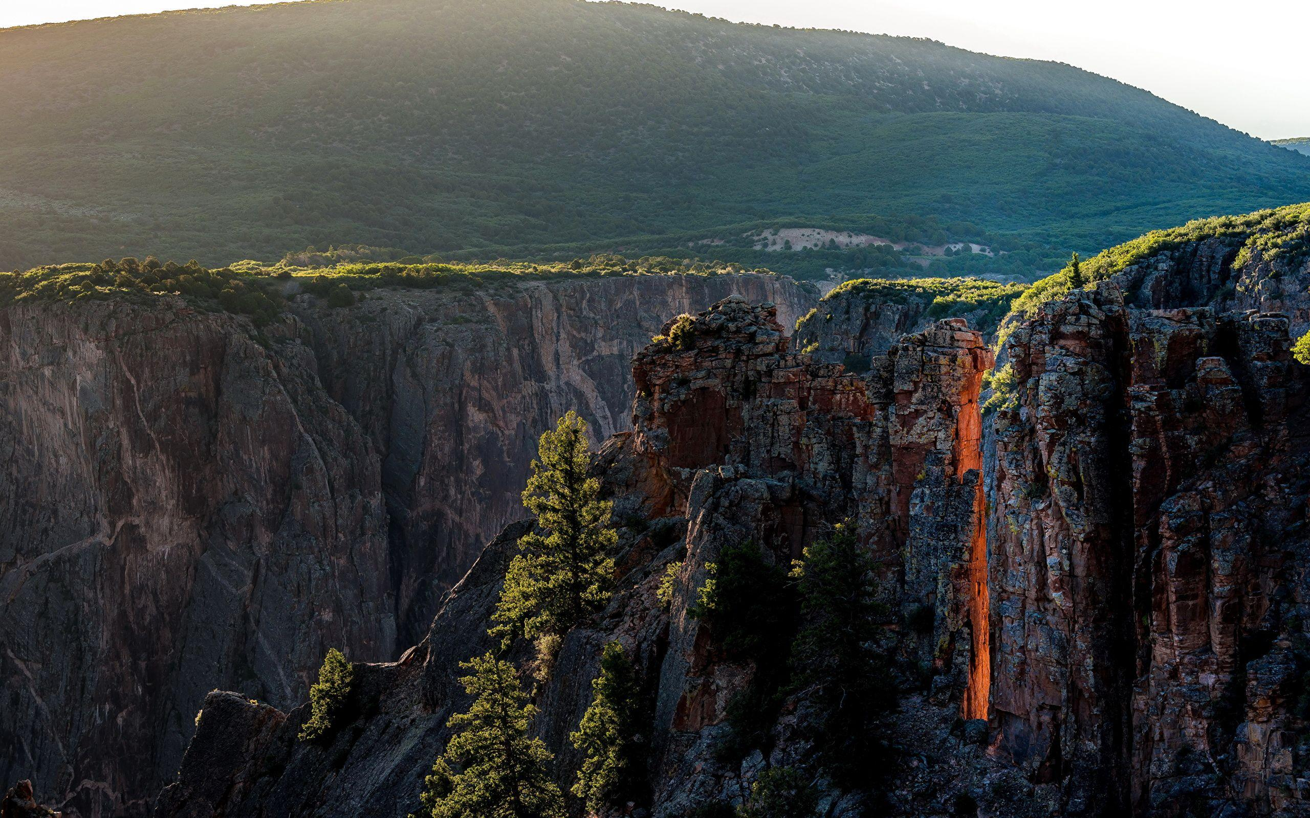 Pictures USA Black Canyon Gunnison National Park Colorado 2560x1600