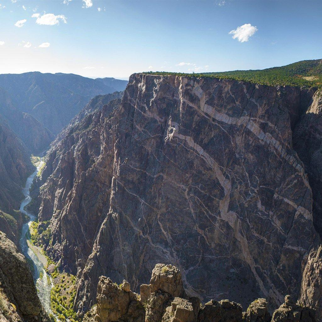 Download wallpapers Black Canyon, 4k, America, Gunnison National