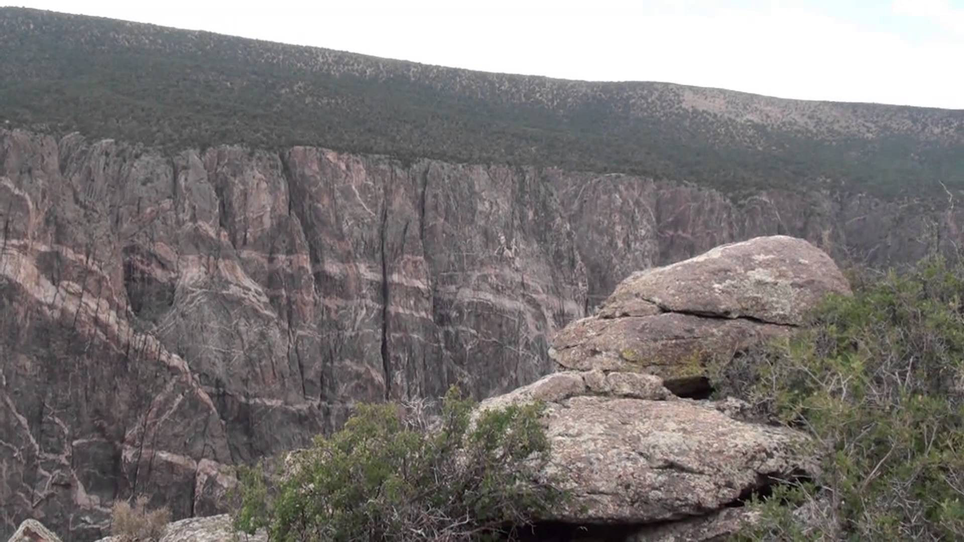 Black Canyon of the Gunnison in Colorado