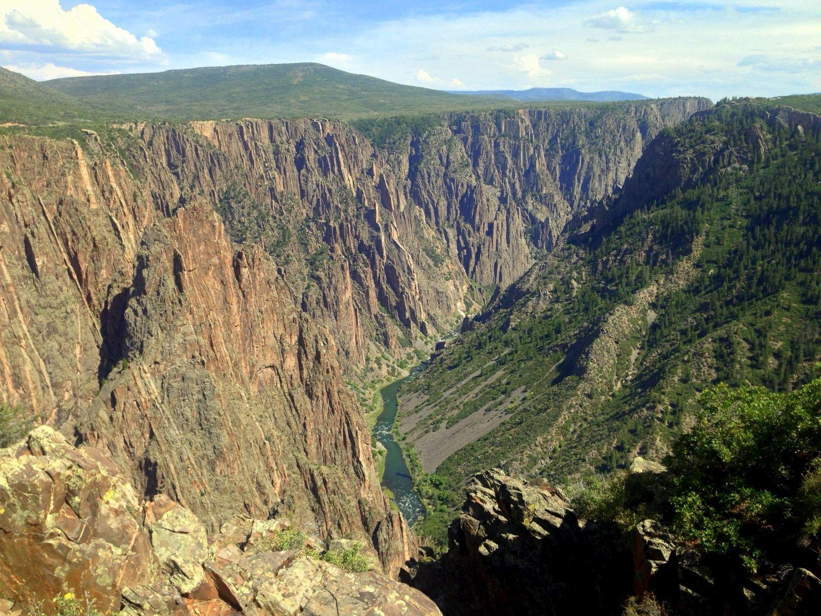 Black Canyon of the Gunnison – Tales from a Van