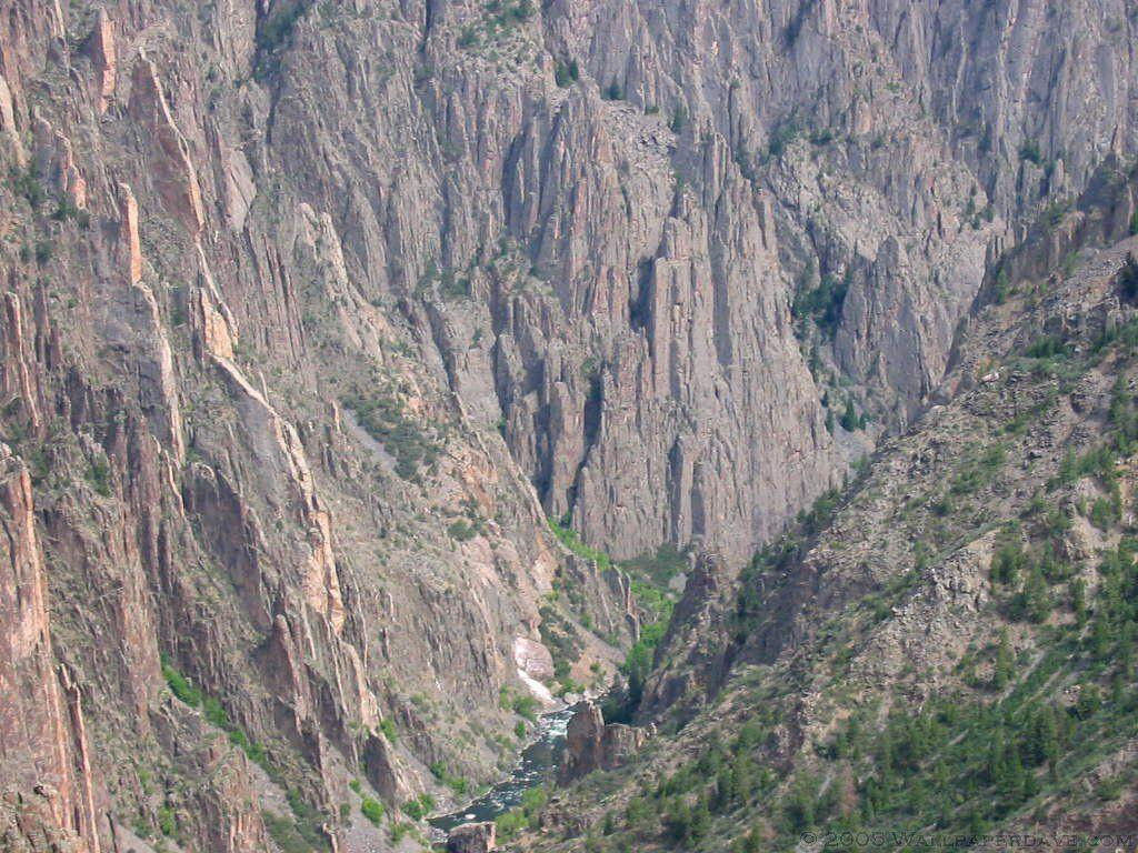 The Black Canyon of the Gunnison National Park, Colorado Wallpapers
