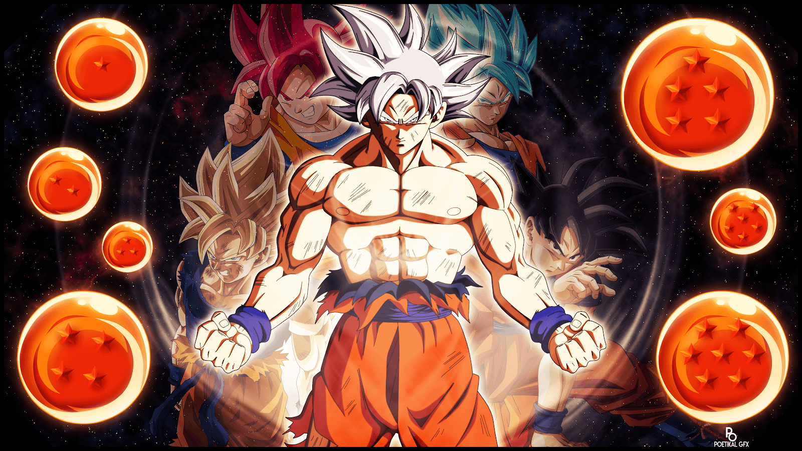 Ultra Instinct Mastered Wallpapers - Wallpaper Cave