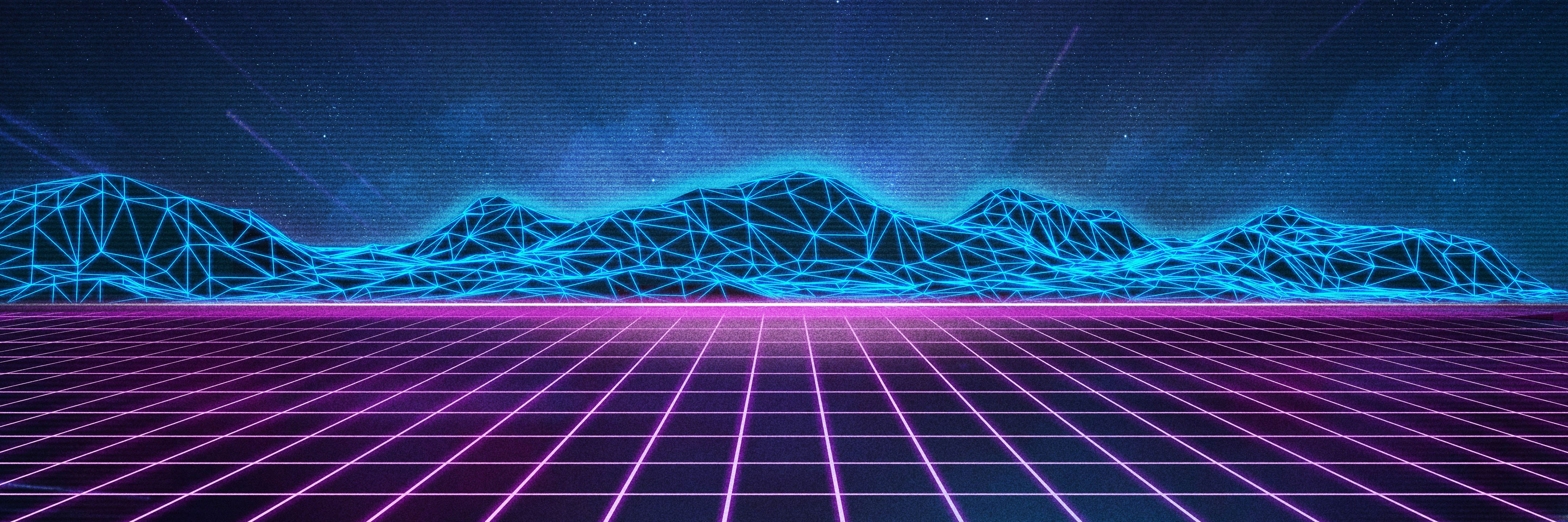 Download Retro Wave 1440x2560 Resolution, HD 8K Wallpapers