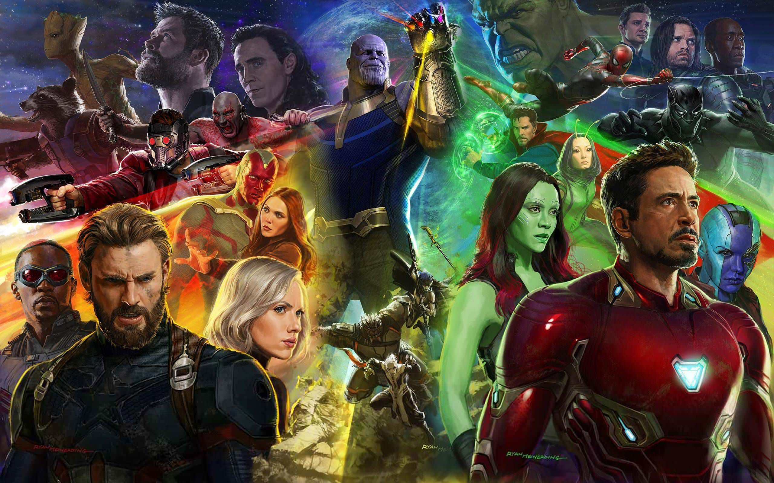 Avengers Infinity War Backgrounds Wallpapers 27131