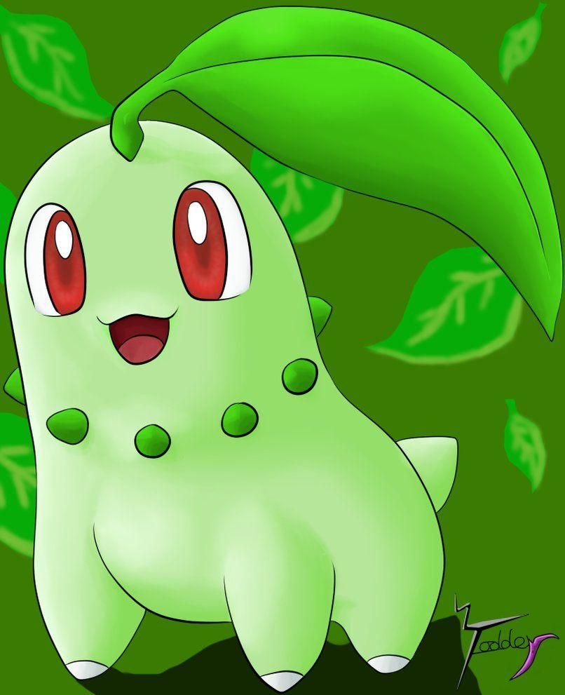Chikorita! by Fodderstein on DeviantArt